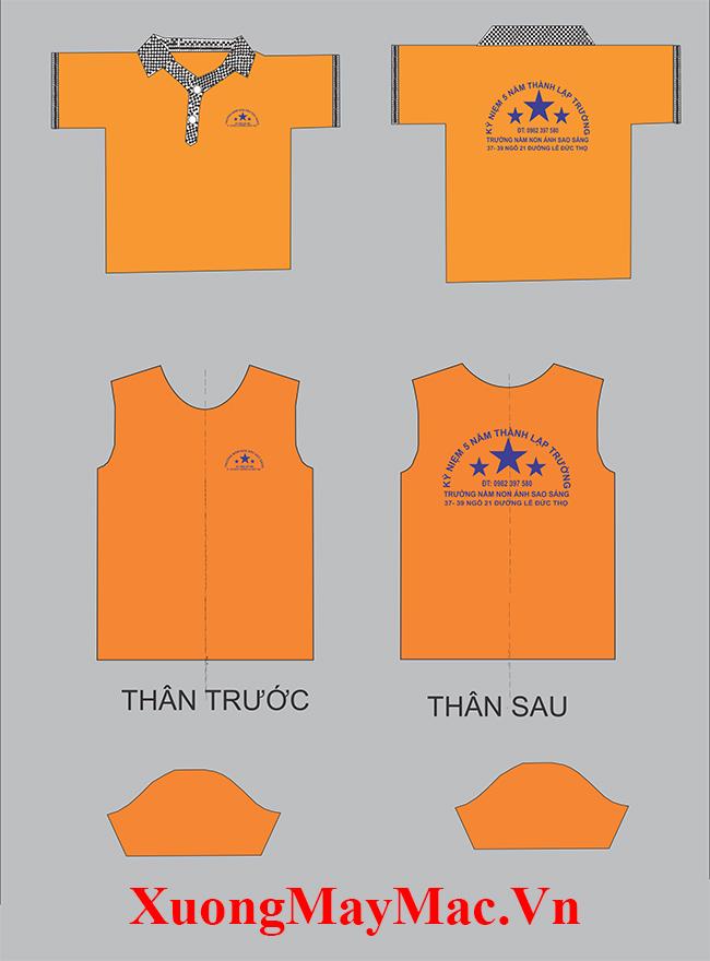 quy trình sản xuất áo thun đồng phục